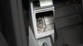 Замена ремкомплекта рычага КПП лада приора