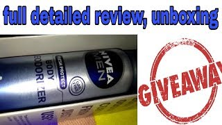 best nivea deodorent for men | nivea men fresh protect body deodorizer for men