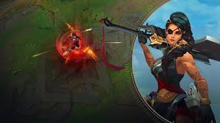 Vetrina campioni: Samira   Gameplay - League of Legends