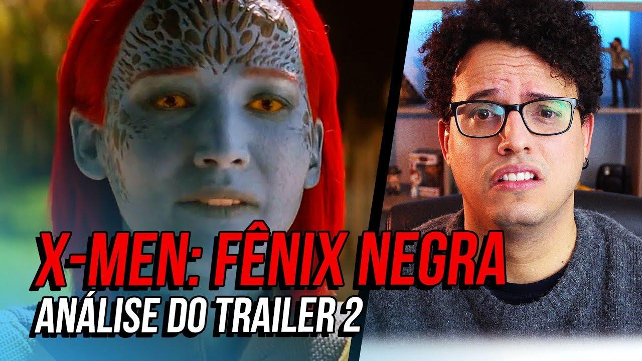 ESSE FILME VAI SER UMA BOOOOOXXXTA ????????????(X-Men: Fênix Negra - Trailer 2)