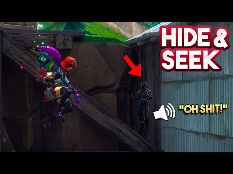 HIDE AND SEEK #11!! - Fortnite Playground (Nederlands)
