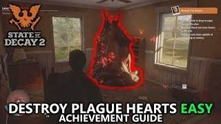 State of Decay 2 - How to Destroy Plague Hearts Easy in Solo (Strategy) - Plague Hearts Achievements