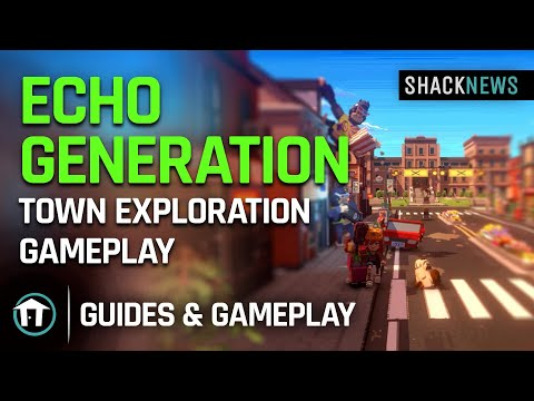 Echo Generation - Town Exploration Gameplay