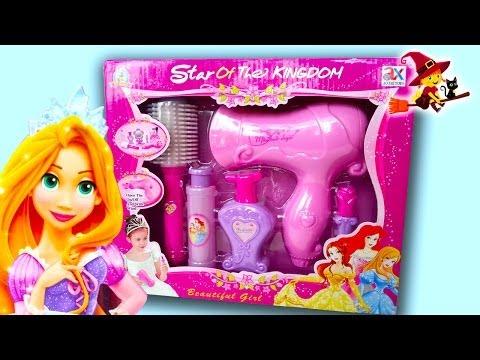 Kit de Peluquería de Princesas   Peinamos a la princesa Rapunzel