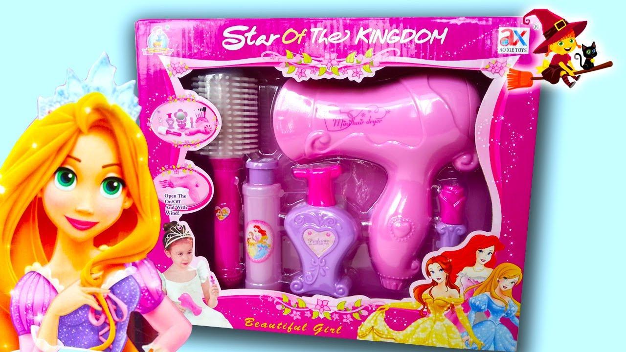 Juegos de hacer peinados para princesas