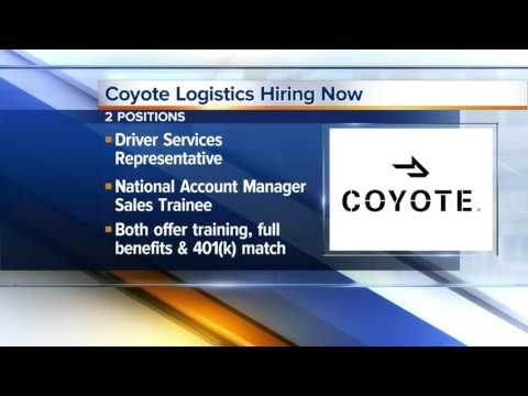 Workers Wanted: Coyote Logistics Hiring