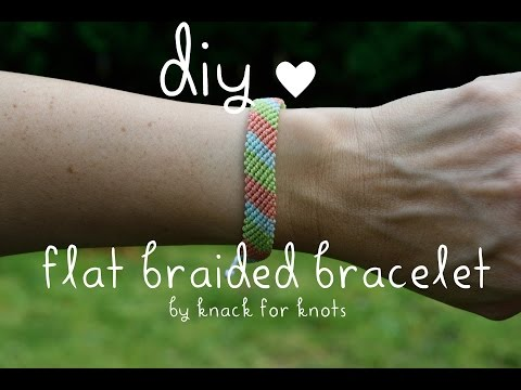 Flat Braid Wax String Friendship Bracelets   Tutorial Inspired by Pura Vida Bracelets!