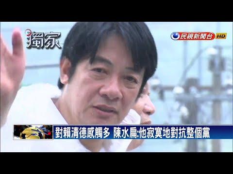 讚「唯一敢主張台獨」 扁:賴清德接棒台灣更棒-民視新聞