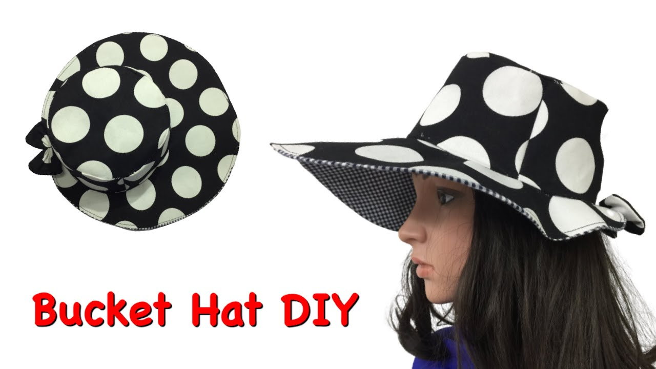 ✳️ Beautiful Bucket Hat Cutting and Sewing / DIY fabric Hats / Recycle clothes