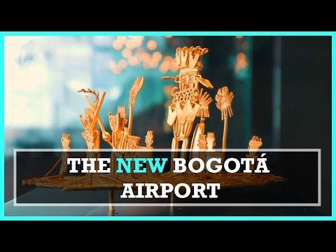 INSIDE THE NEW BOGOTA AIRPORT ft. President Santos