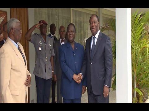 Côte d'Ivoire: Rencontre entre le président Alassane Ouattara et le président Bédié