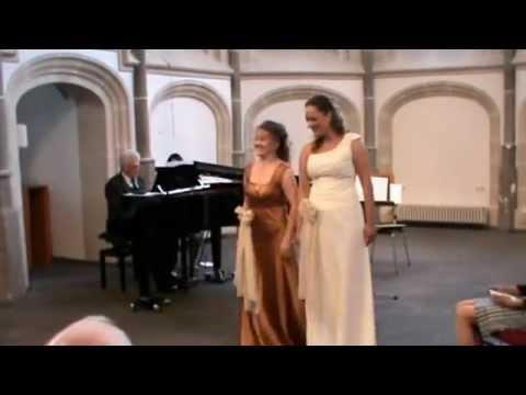 """J.Brahms """"Die Schwestern"""" Nadja Knop & Katja Becker"""