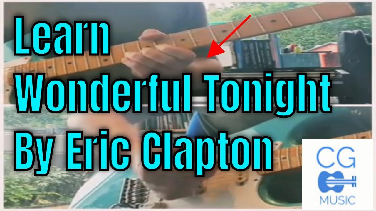 Guitar Lesson - Wonderful Tonight - Eric Clapton - YouTube
