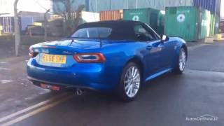 FIAT 124 SPIDER MULTIAIR LUSSO BLUE 2016