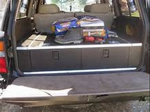LandCruiser FZJ80: How To  Build rear Drawers