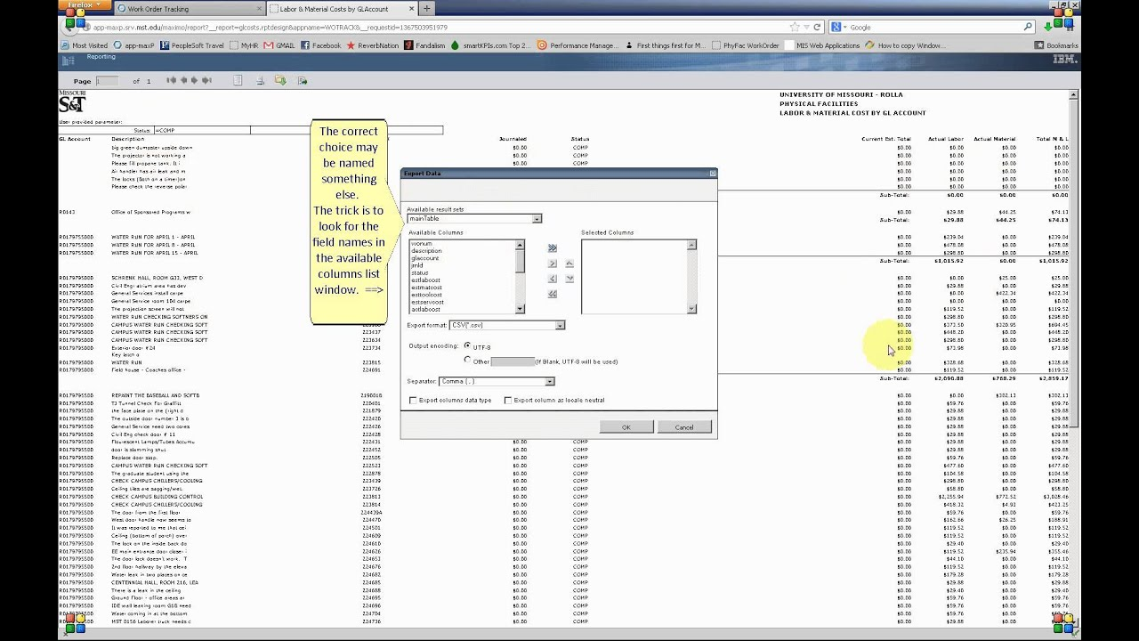 Reports Part 3 - Printing and Exporting a Report from the BIRT Report Viewer