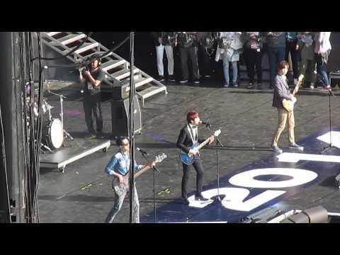 KBS LA Free Korea Festival 2014 | CN Blue- I'm Sorry | Rehearsal |
