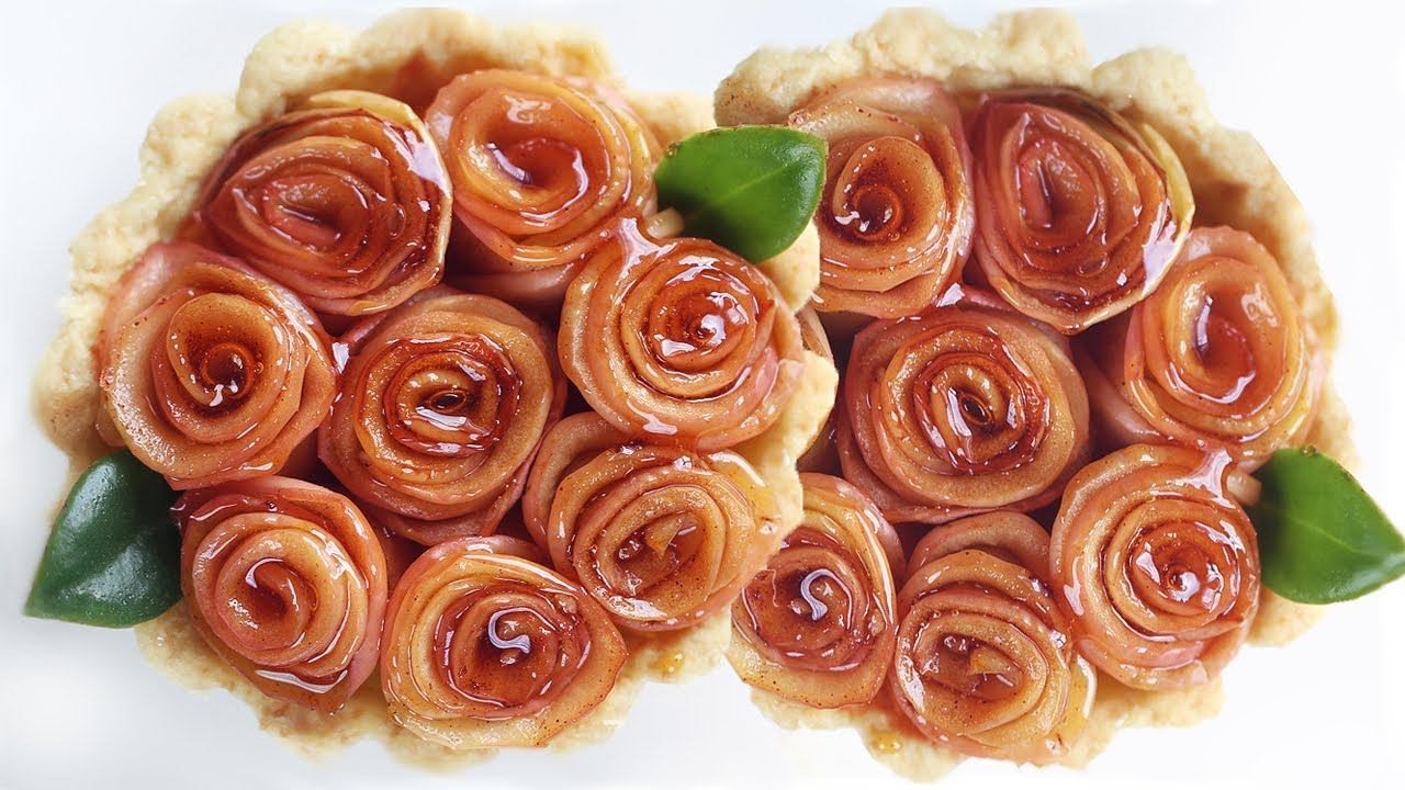 How to Make Apple Pie - Rose Tart 로즈 애플 파이 만들기 - 사과 타르트 한글자막