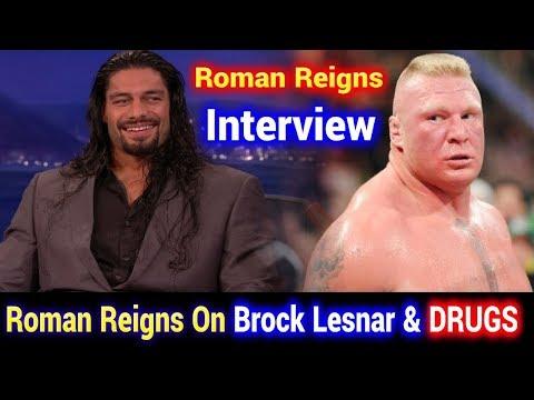 Roman Reigns Interview on Brock Lesnar & Drugs   Brock की बहुत इज़्ज़त करता हूँ पर पेल दूंगा अब क्यों