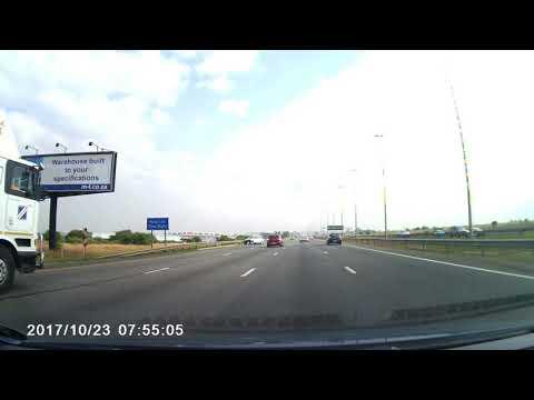 Dash Cam - Losing control on R21 - South Africa