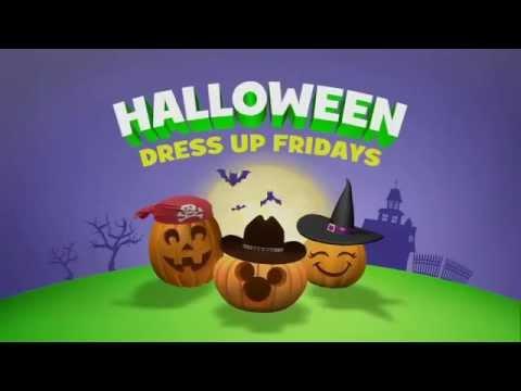 halloween dress up fridays disney junior