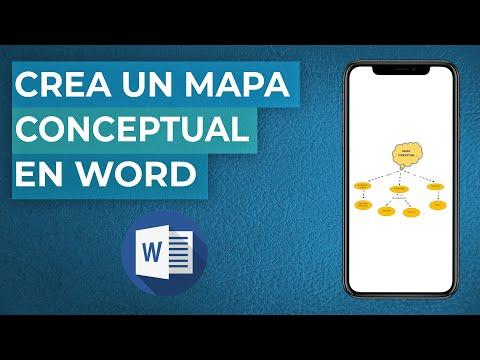Cómo Hacer o crear un MAPA CONCEPTUAL en Word - Fácil y Rápido