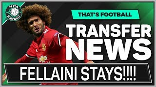 FELLAINI Signs For MAN UTD! LATEST TRANSFER NEWS LIVE!