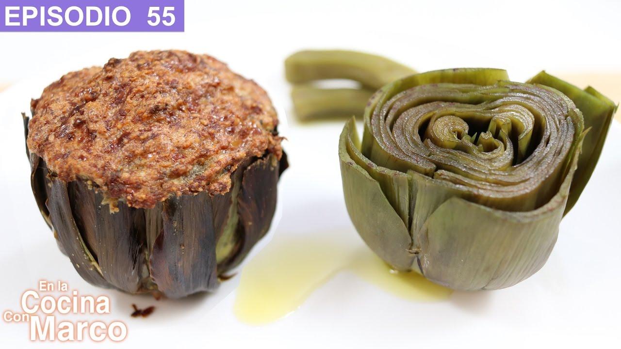 Como limpiar y cocinar alcachofas recetas italianas for Cocinar alcachofas