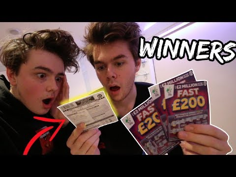 BUYING LOADS OF SCRATCH CARDS * *IT ACTUALLY WORKED**