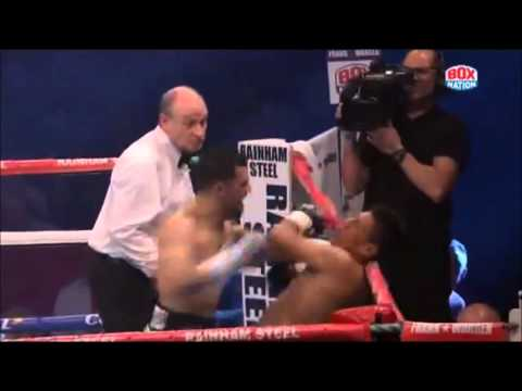 Jack Catterall demolishes  Noe Nunez in the third