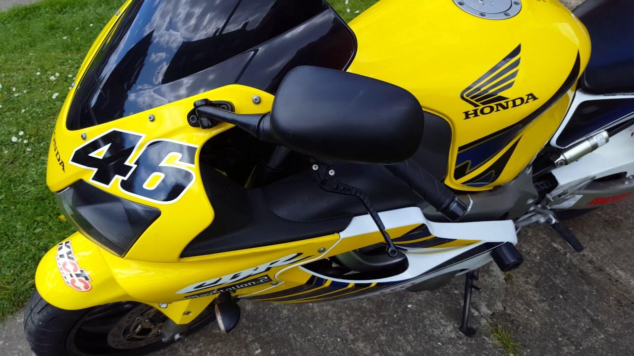 Honda Cbr 600 Fr2 Rossi Replica F4i F Sport For Sale Uk Youtube