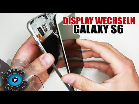 Samsung Galaxy S6 Display Wechseln Tauschen unter 5Minuten Reparieren [Deutsch/German]