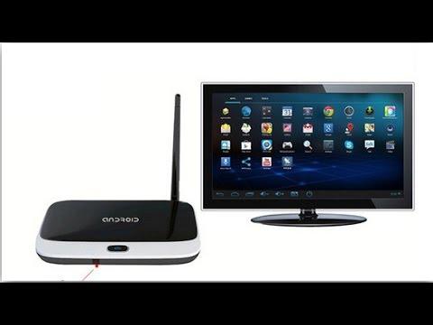 Android TV BOX Q7 CS918 T-R42 MK888B из AliExpress - YouTube