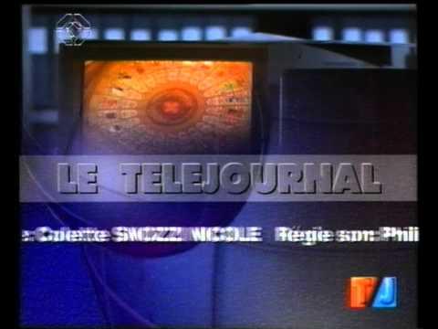 TSR: Générique fin Téléjournal Suisse