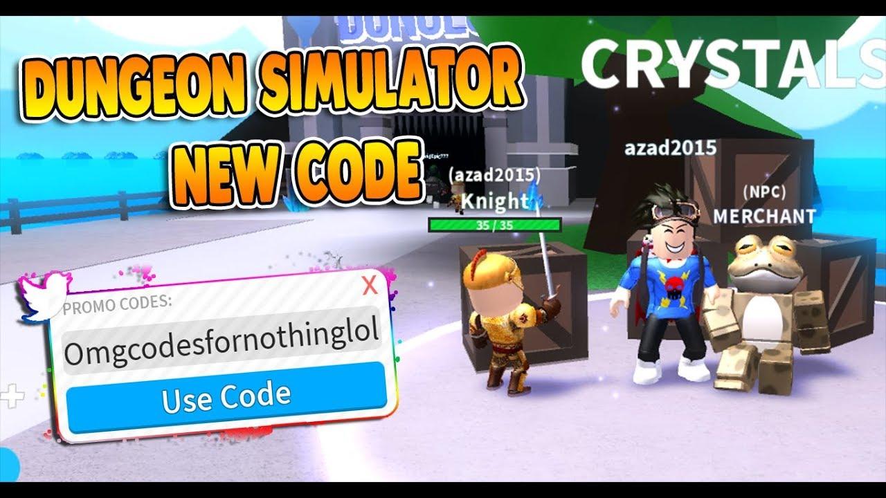Roblox Dungeon Simulator Code Youtube