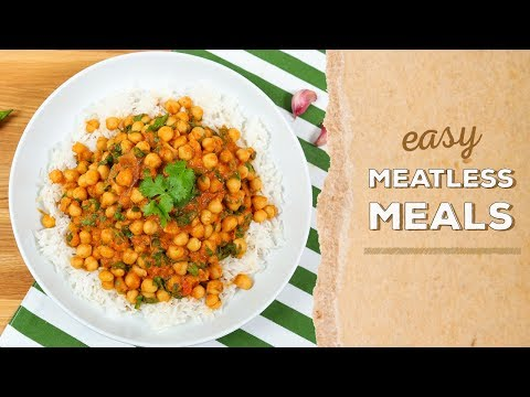 3 EASY Meatless Meals | Dinner Made Easy