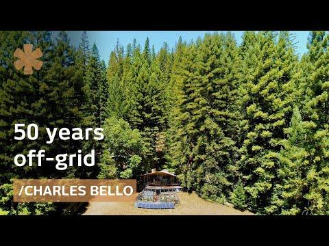 50 years offgrid: architectmaker paradise amid NorCal redwoods