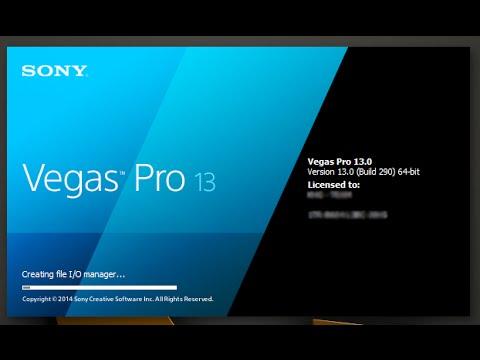Sony vegas pro 13 serial key 64 / 32 bit youtube.