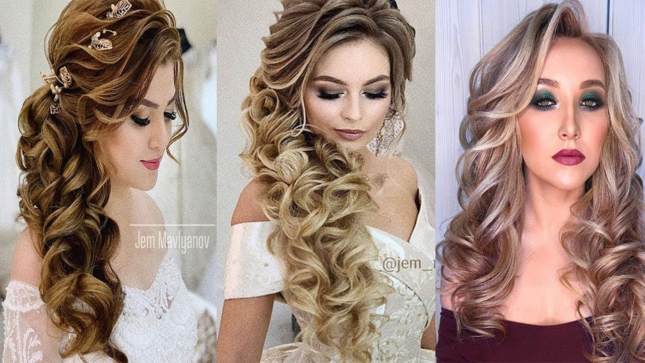 8 Easy Beautiful Hairstyles For Wedding Amazing Wedding Hair Transformation 2018 Youtube