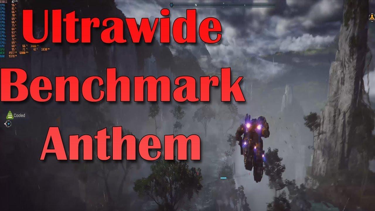 Anthem Ultrawide 21:9 Benchmarks w/ Ryzen 1600 and EVGA RTX 2080 (3440x1440)