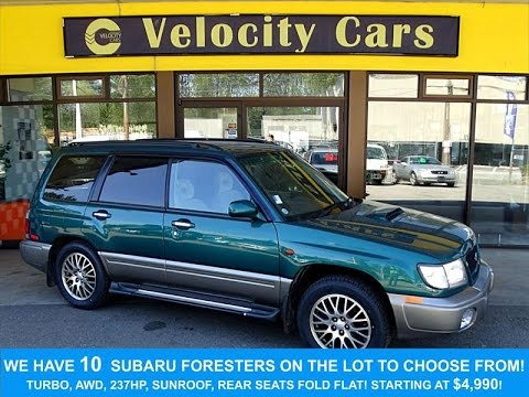 1997 subaru forester 8ks awd turbo 237hp certified low mileage 1997 subaru forester 8ks awd turbo 237hp certified low mileage for sale in vancouver bc sciox Images