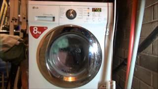 lg f1222td washing machine cotton quick prewash mini load