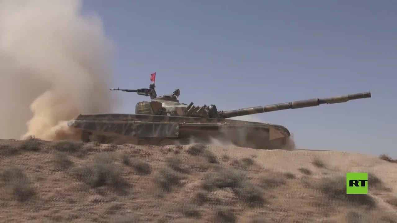 مشاهد من مسابقة بياتلون الدبابات في سوريا  - نشر قبل 44 دقيقة