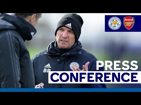 'Excited About The Club's Future' - Brendan Rodgers | Leicester City vs. Arsenal