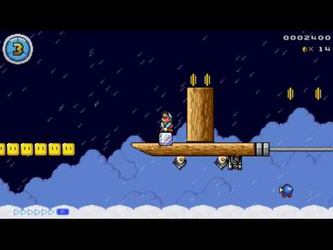 Mario Editor (ME) Custom Level - Airship of Fear