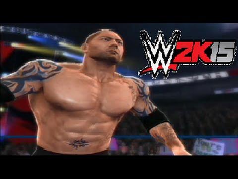 Wwe 2k14 Batista WWE 2K14 Simulation: W...