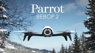 Parrot BEBOP 2 Drone - Official Video (Launch)(Introducing Parrot Bebop 2 Drone, Your Flying Companion. Fast, agile and lightweight camera drone for everyday. A compact and powerful drone that makes ..., 2015-11-20T10:53:47.000Z)