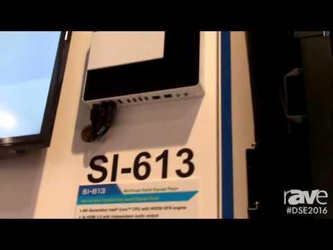 DSE 2016: iBASE Intros SI-613 Media Player With Skylake Intel Processor