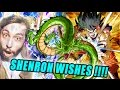 Dragon Ball Z Dokkan Battle | SHENRON WISHES EXPLAINED | Dragon balls acquired!