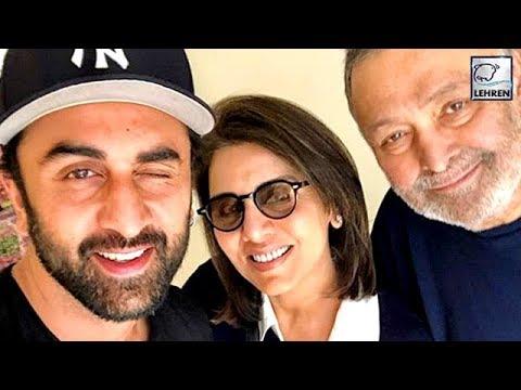 Ranbir Kapoor Is Full Of Smiles With Dad Rishi Kapoor And Mum Neetu Kapoor   LehrenTV Mp3